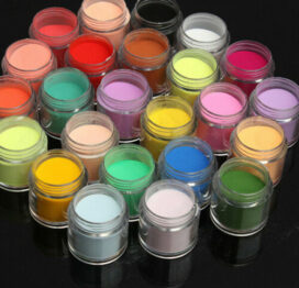 Xρωματιστες Πούδρες Ακρυλικού
